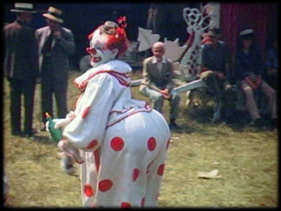Polka dot clown from cards without words elizabeth siegfried deoetp