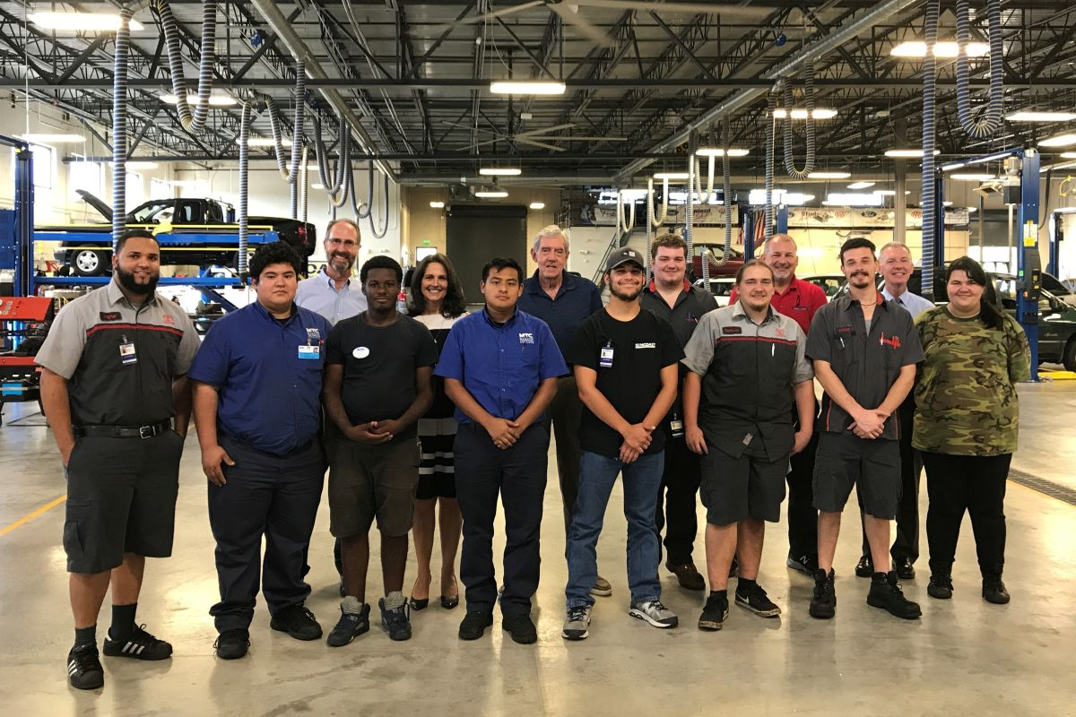ten students complete new automotive technician training program sarasota magazine automotive technician training program