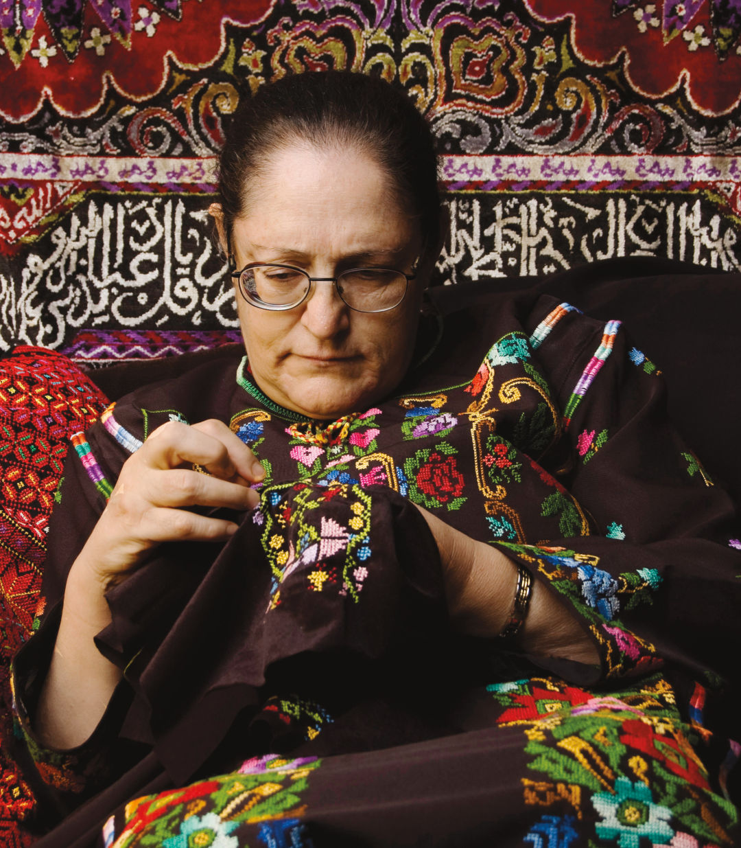 An Oregonian Keeps The Art Of Palestinian Embroidery Alive