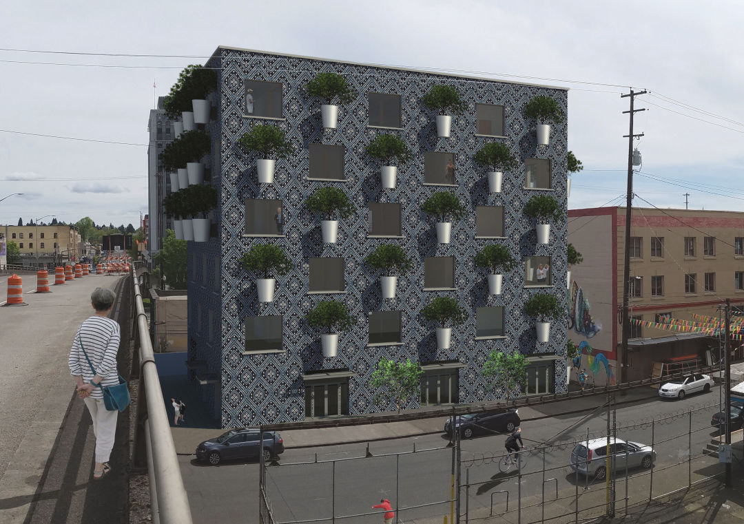 This Portland Building Will Be Covered In Actual Trees
