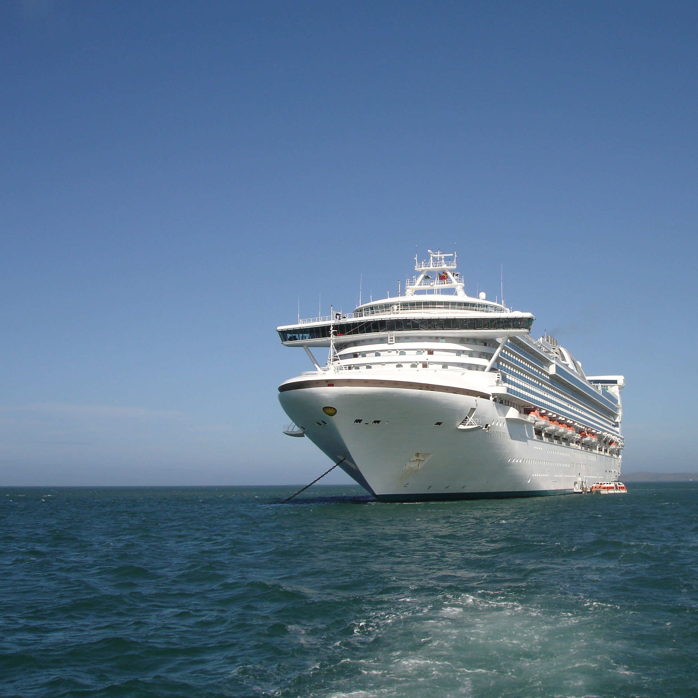 Cruise ship oxsnok
