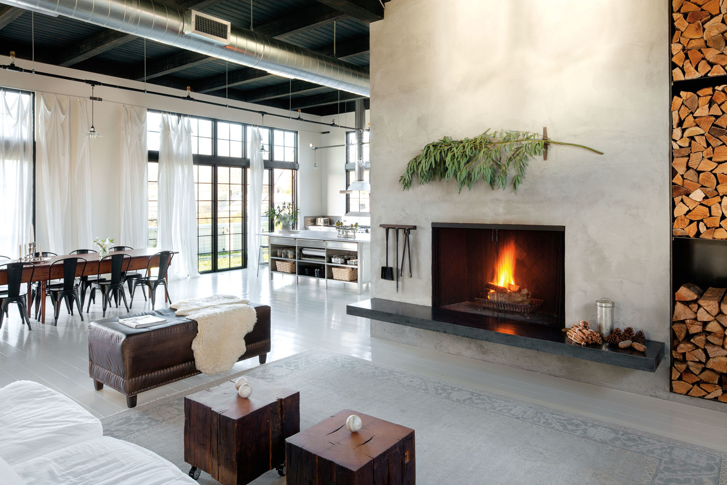 portland home envy inside an inspiring 1920s industrial warehouse