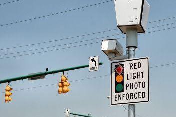 Red light camera tjubuv