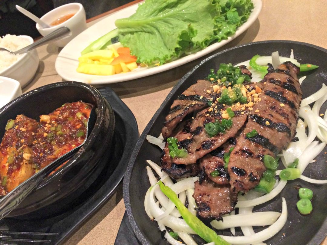 Tex-Viet Tuesday: Vietnamese Beef Fajitas at Kim Son | Restaurant ...