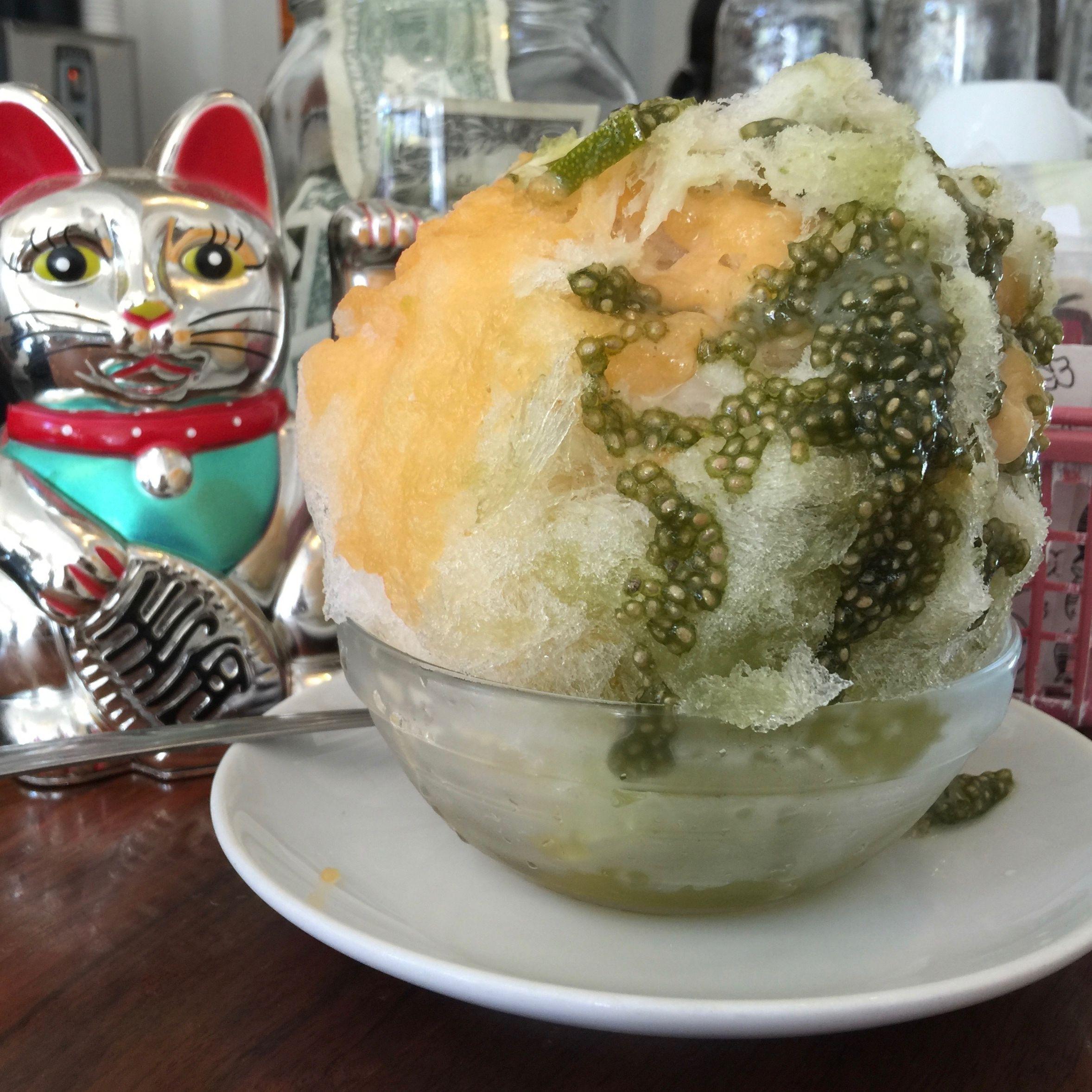 Courier melon basil chia ice  p58dhr