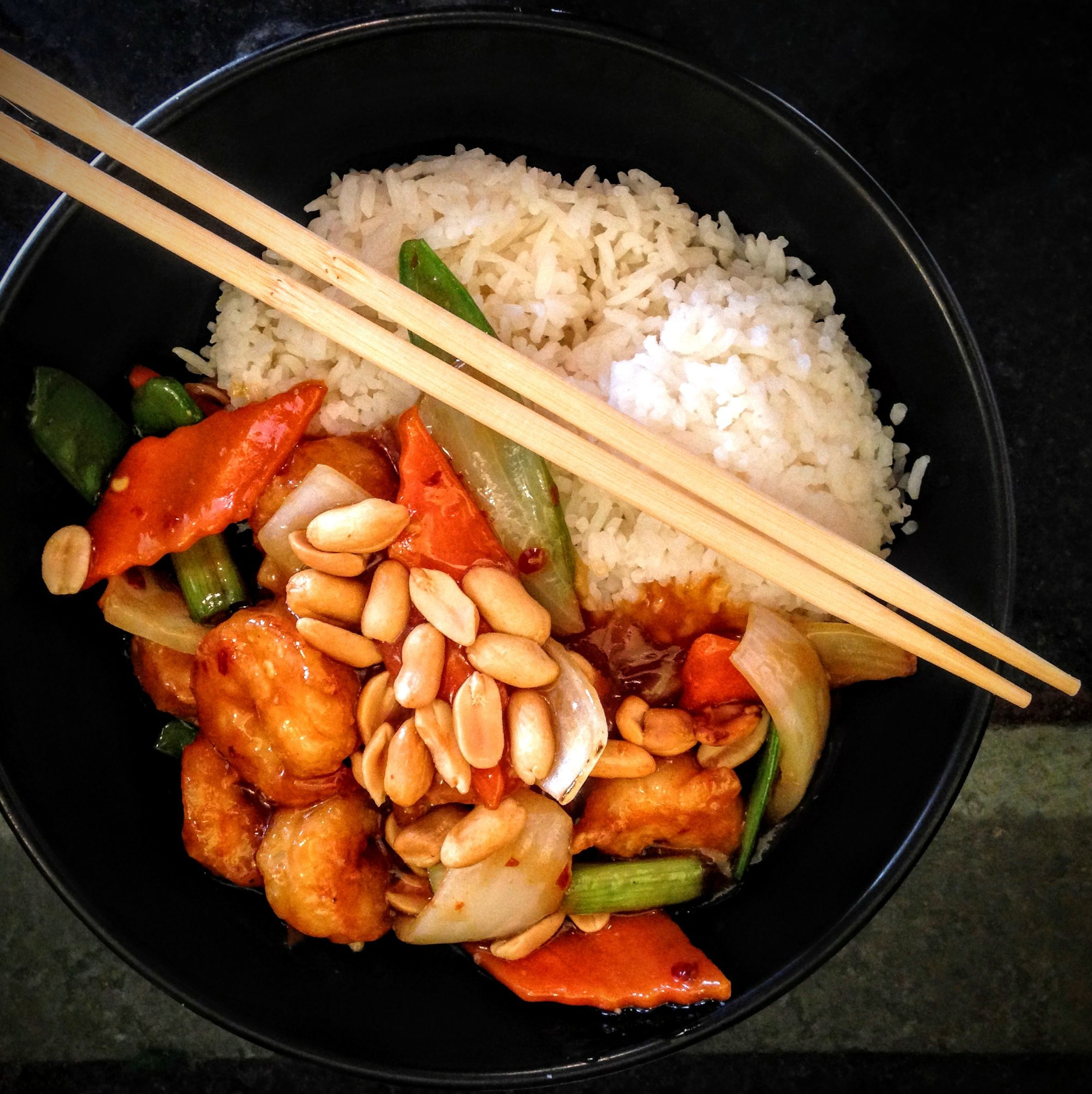Rice bowl asian house imkpz4