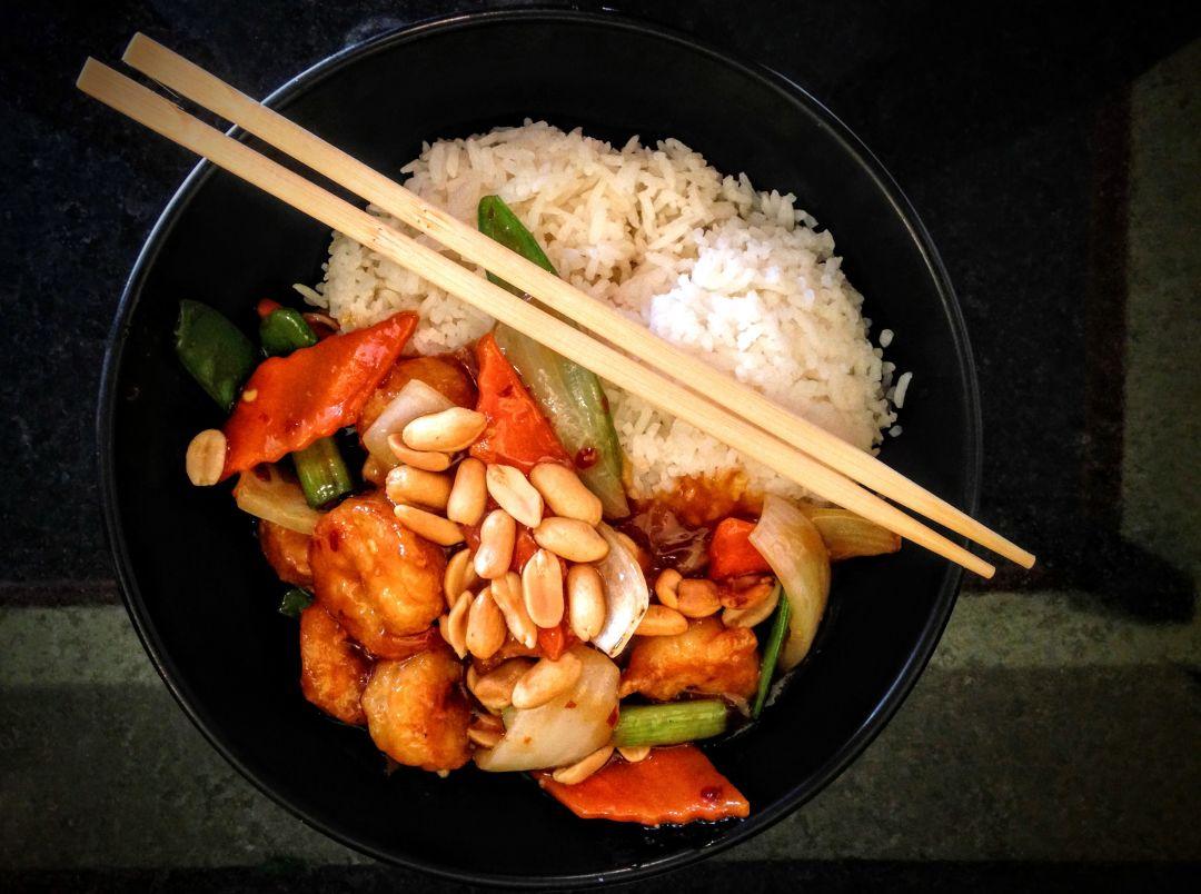 Rice bowl asian house imkpz4