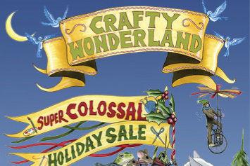 Crafty wonderland poster uiybko