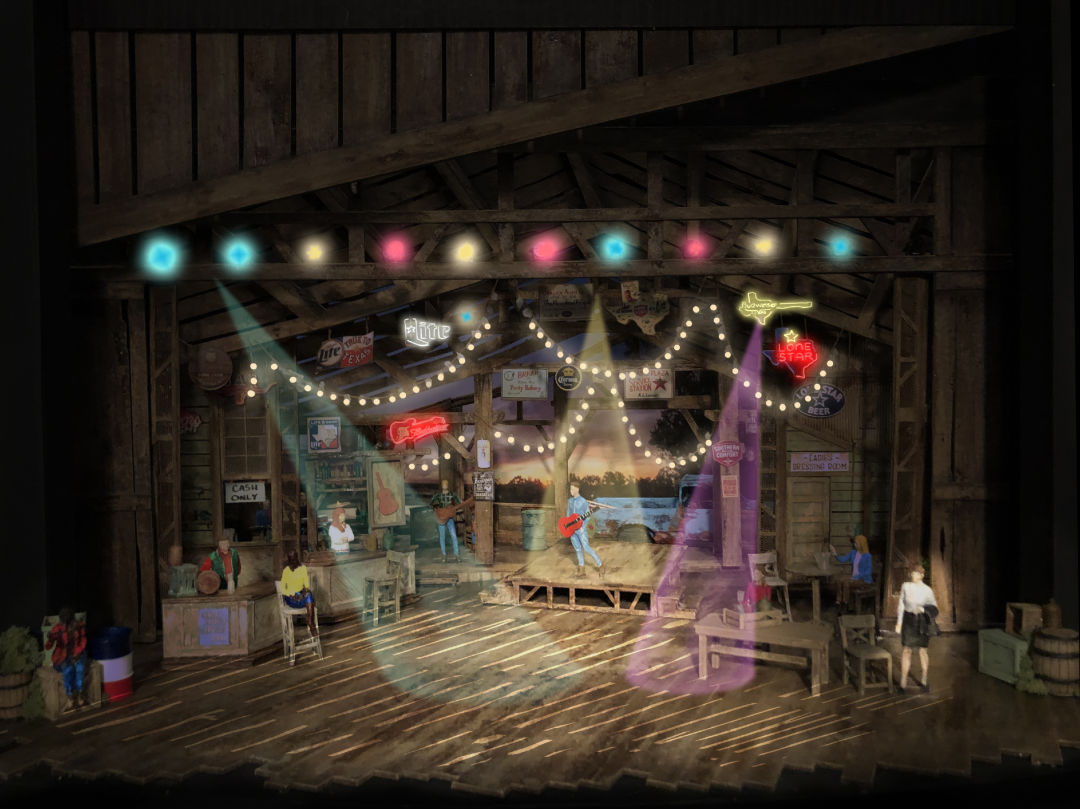 Pure Country production's set rendering
