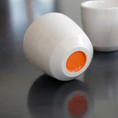 Orange pigeon toe espresso cup utfzml