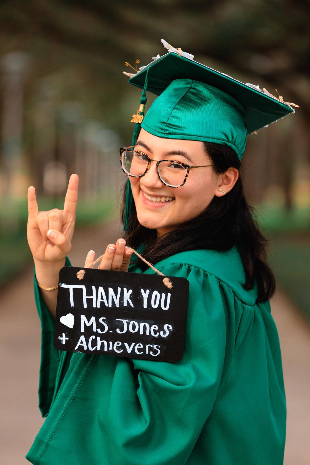 Achievers program alumna and current University of South Florida student Sofia Salazar