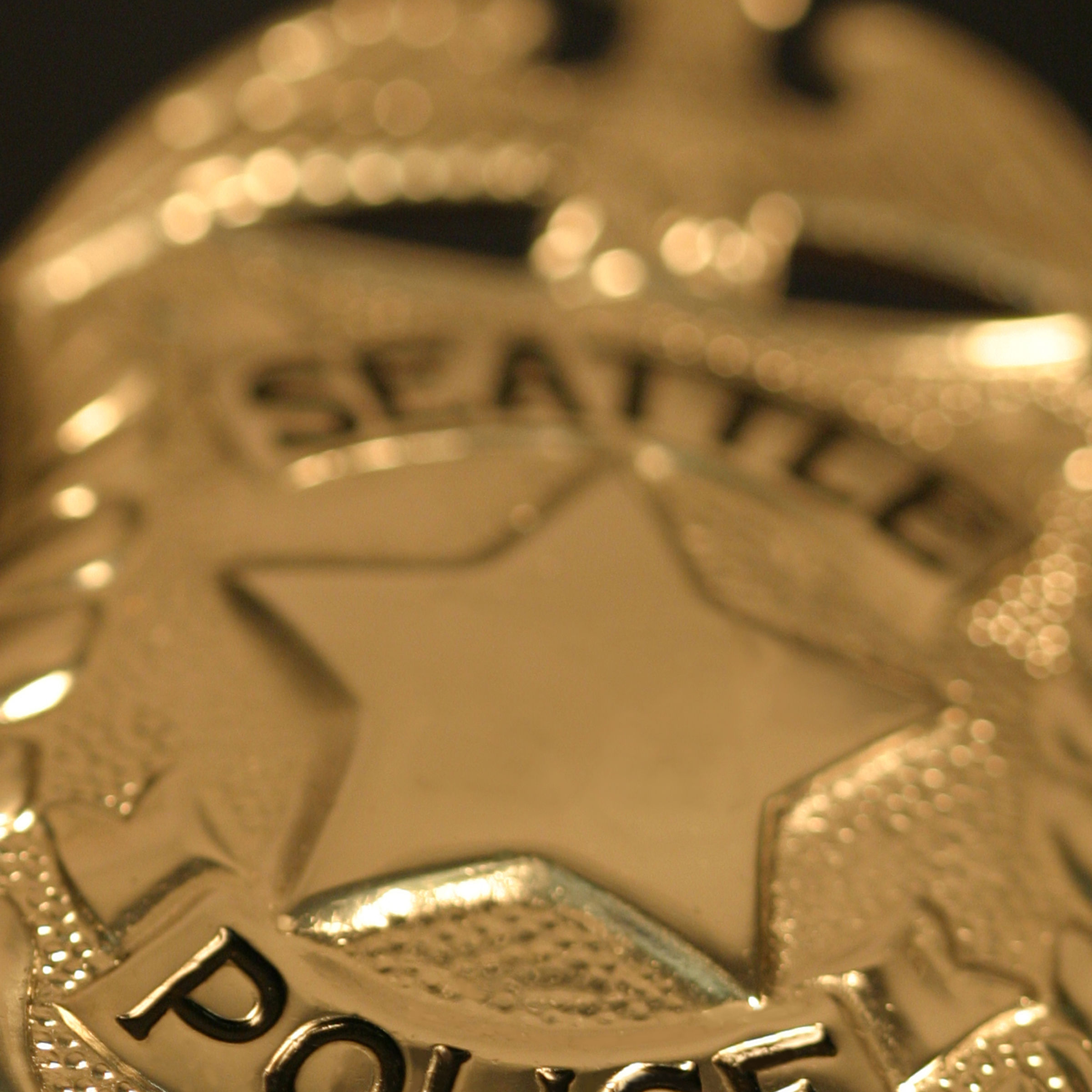 Seattle police department badge city htyvxc