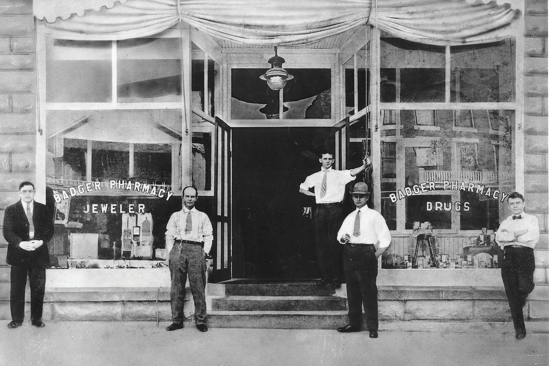 Badger Pharmacy opened in 1905 at Five Points.