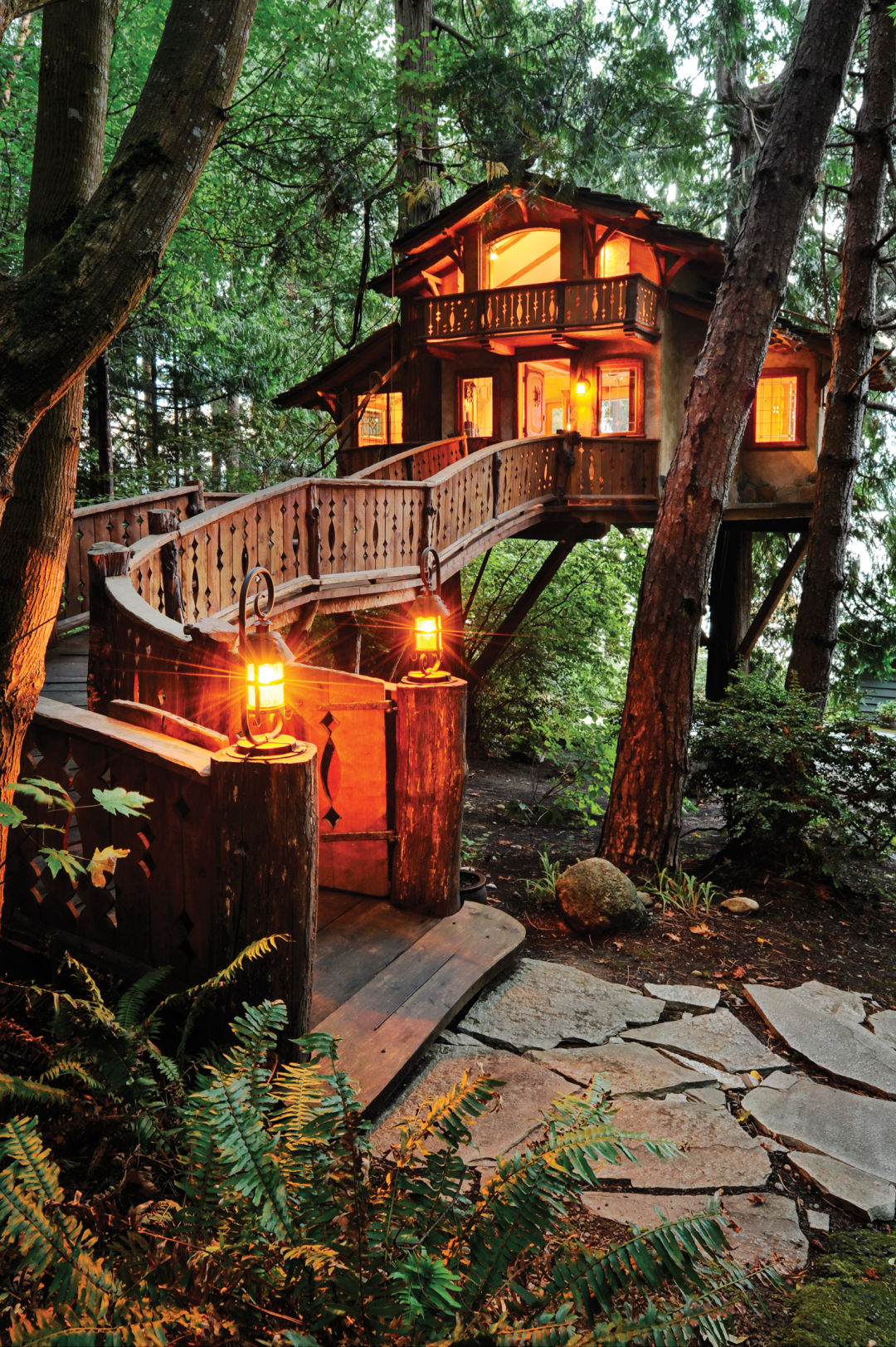 Safe Arbor Go Inside The Danilchik Treehouse In Poulsbo Seattle Met
