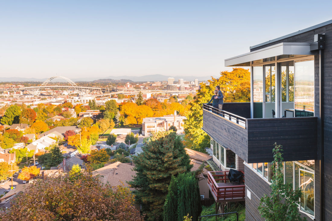 how a portland architect built his dream home in six months