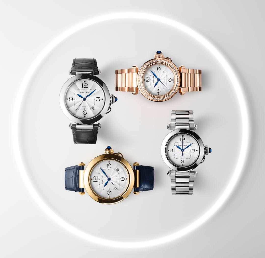 Pasha de Cartier watches
