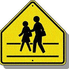School zone sign a6caxp