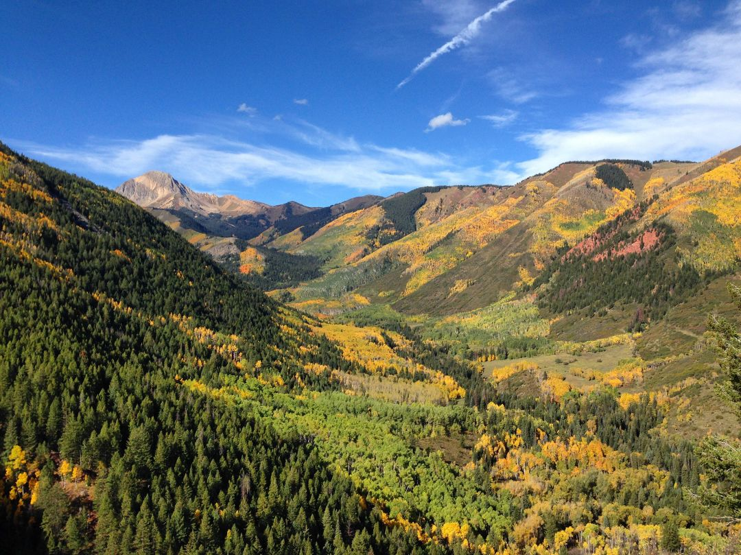 Ditch trail overlook fall aspen trail finder qqdlvs