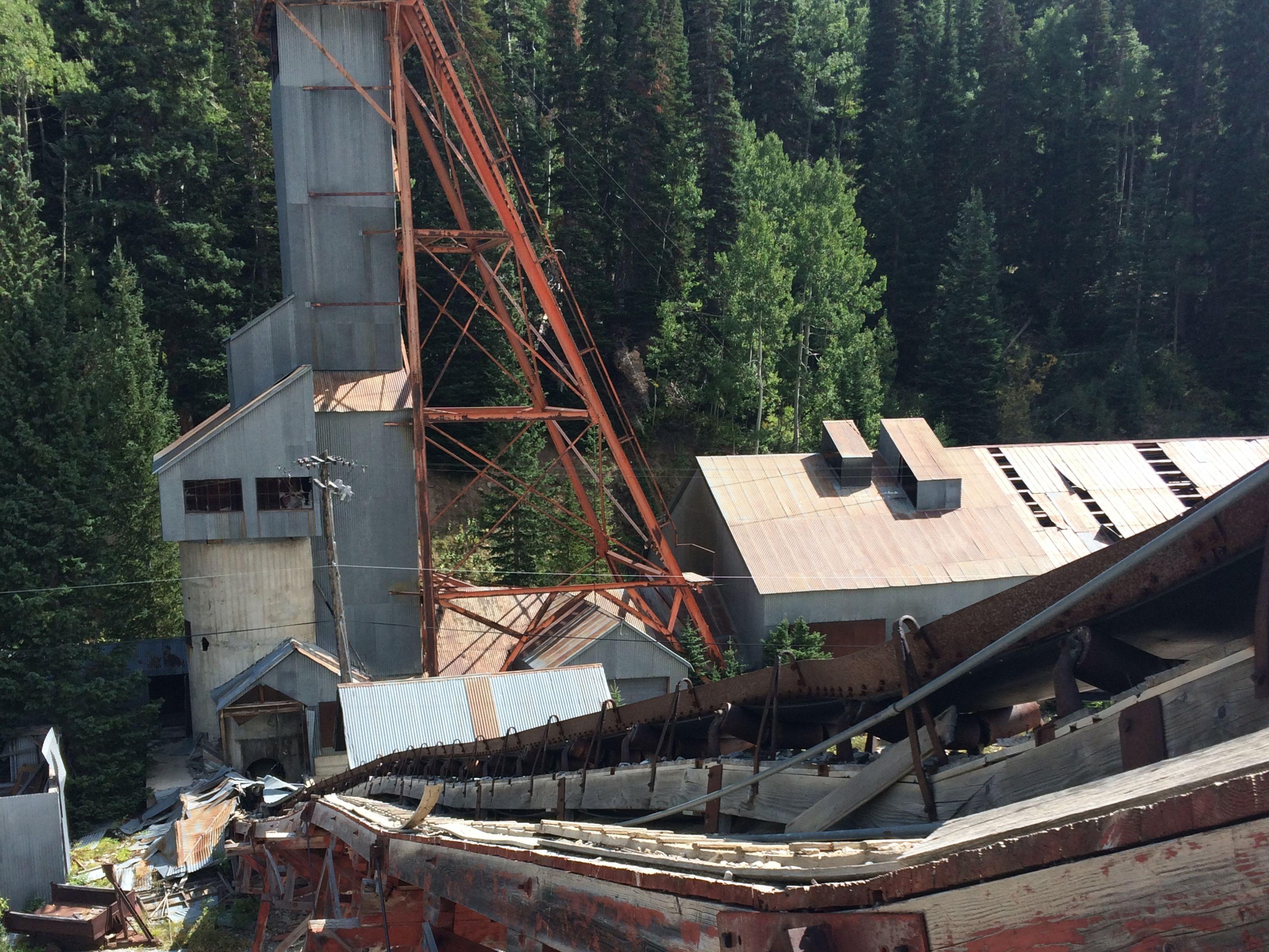 Thaynes hoist house and conveyor belt 5  f38fnw
