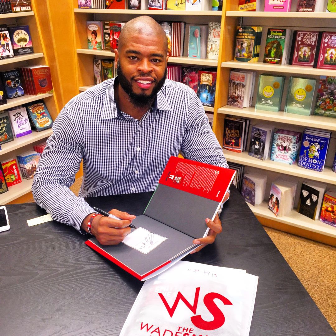 Wade smith  book signing hqjh1j