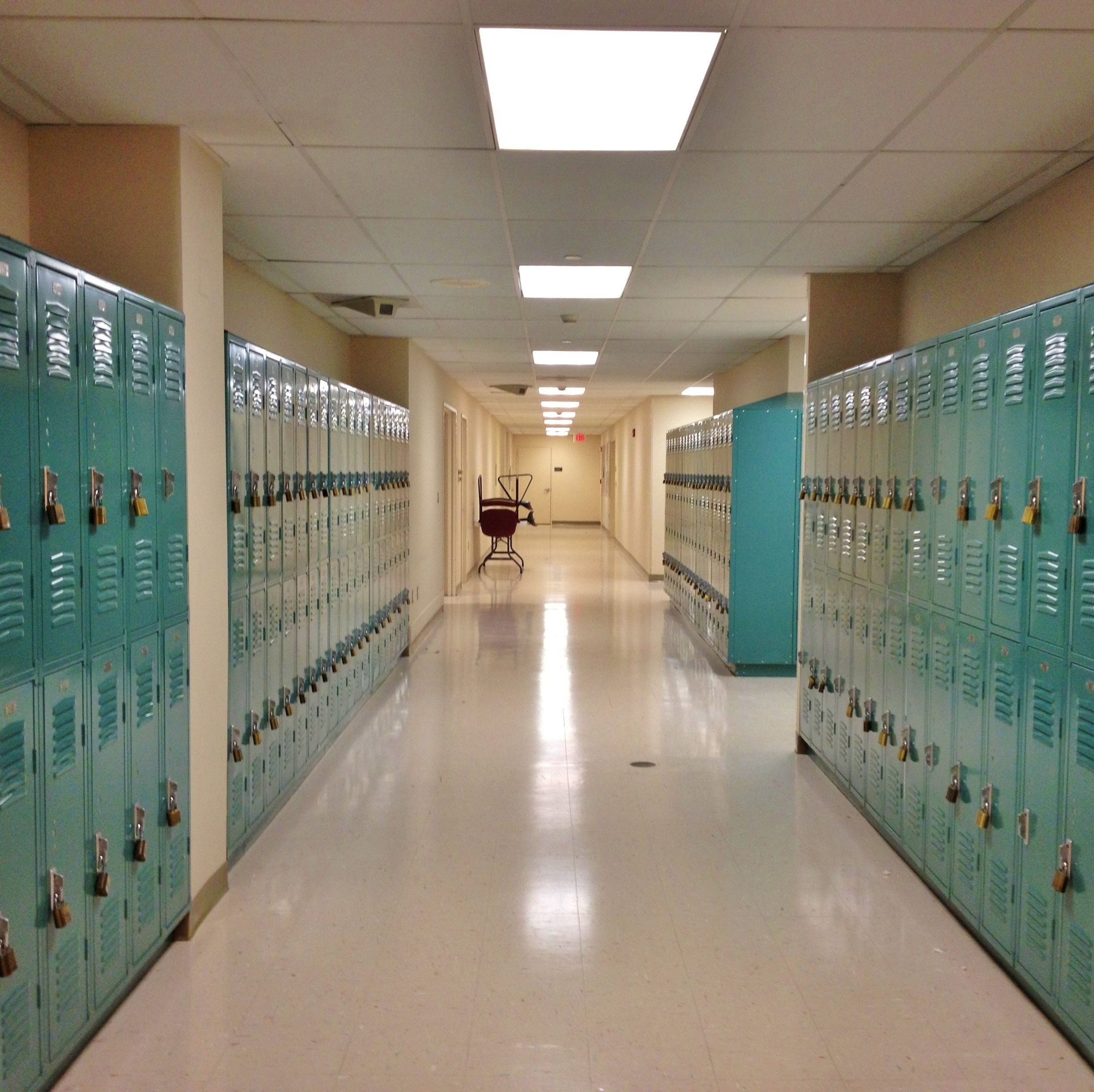 Shutterstock high school lockers dedsnr