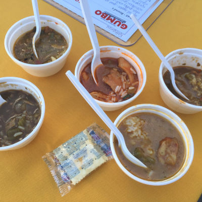 Gumbo smackdown cups cohiwc