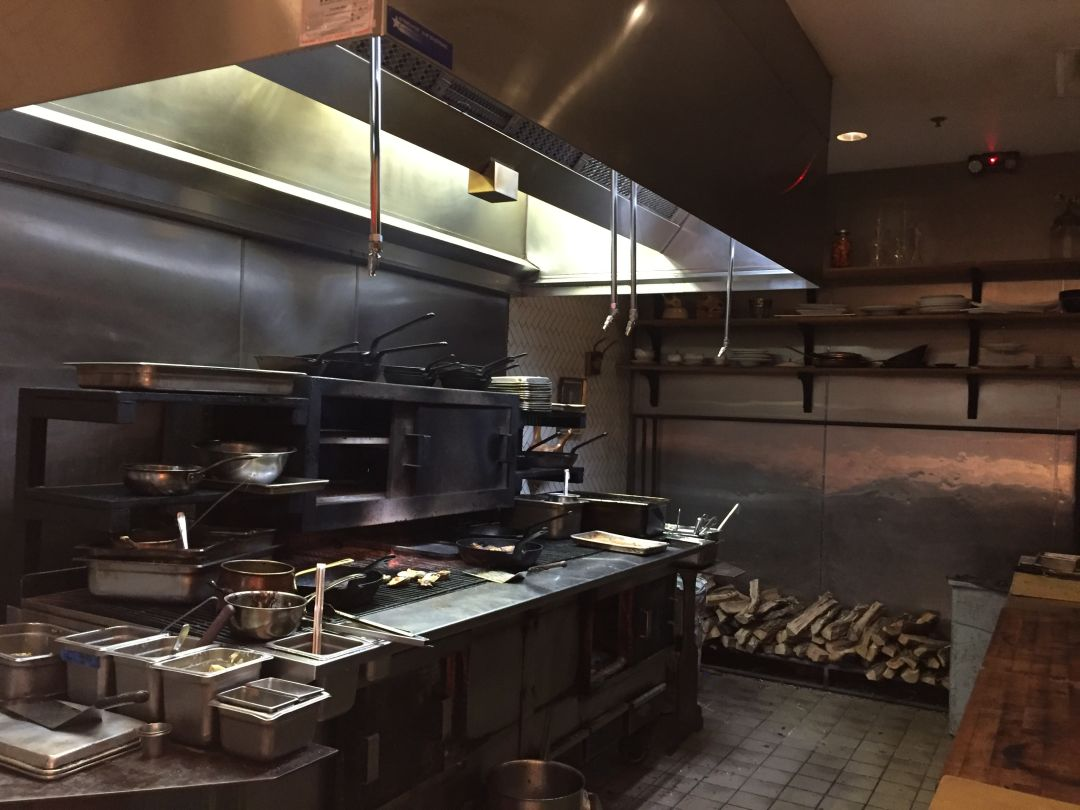 Want a couture dinner try these six chefs tables houstonia the view of the kitchen from the state of grace chefs table watchthetrailerfo