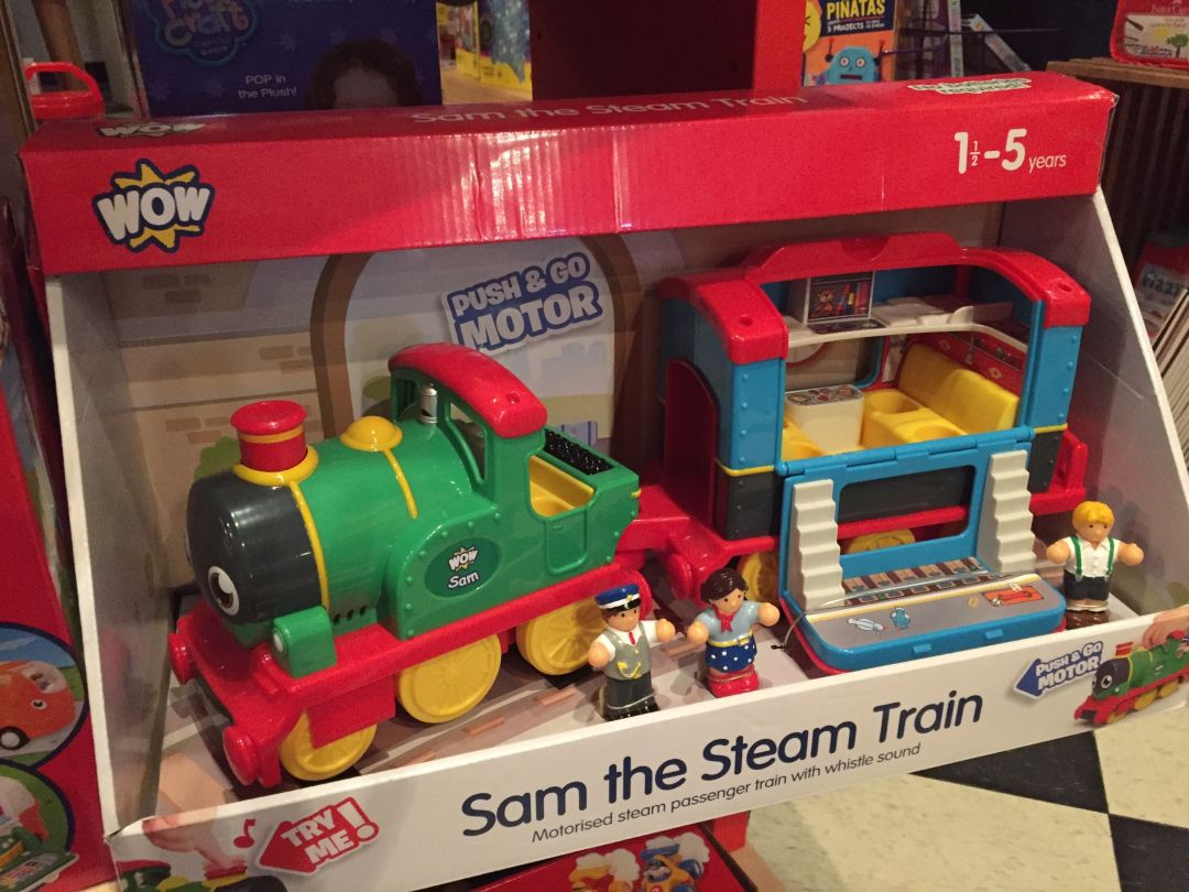 Sam the train xdevce