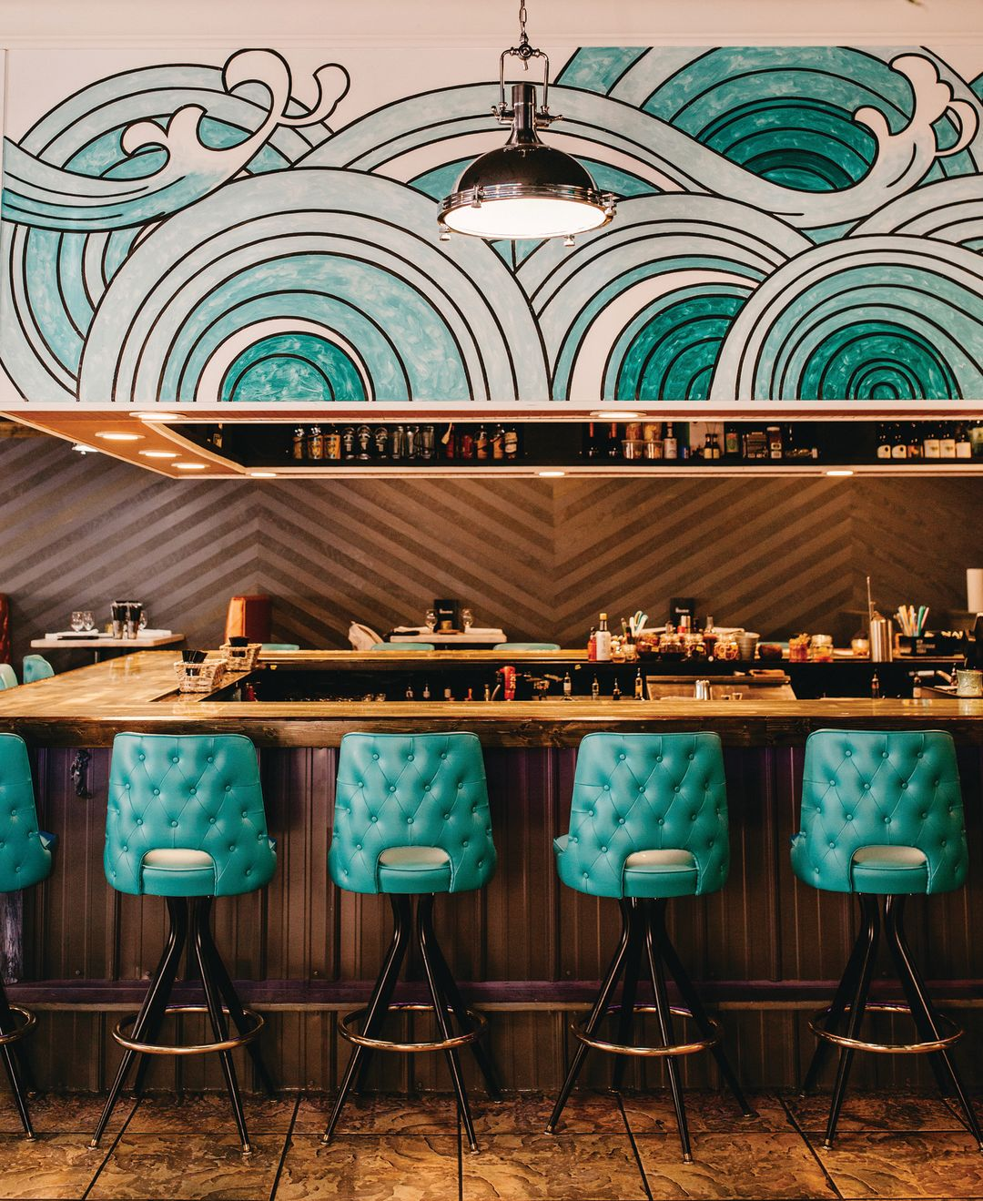 Seabar's swanky bar space