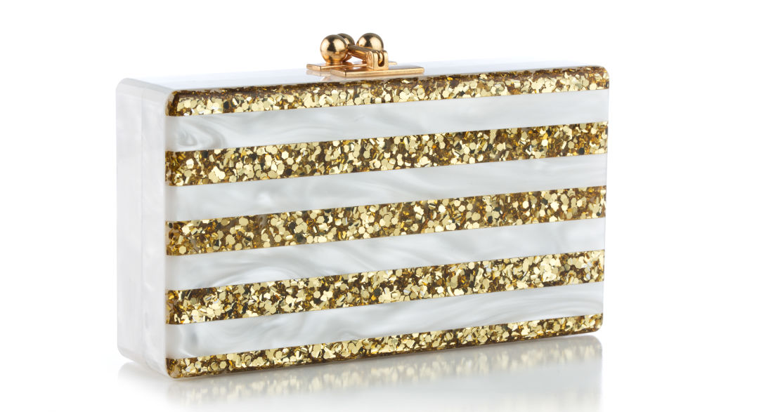 Jean white with gold stripes yucis2