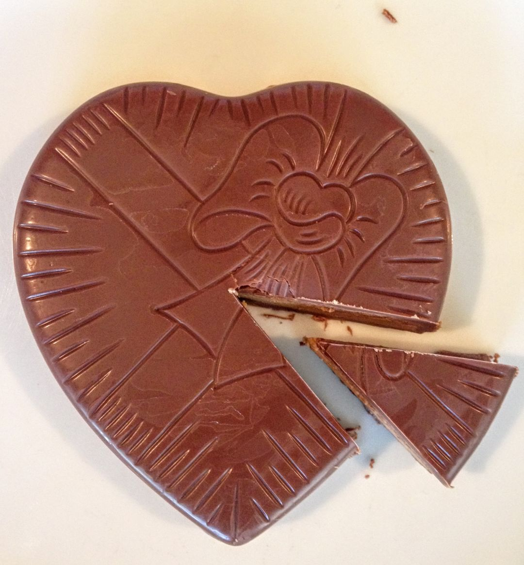 Reese s peanut butter heart knopsb