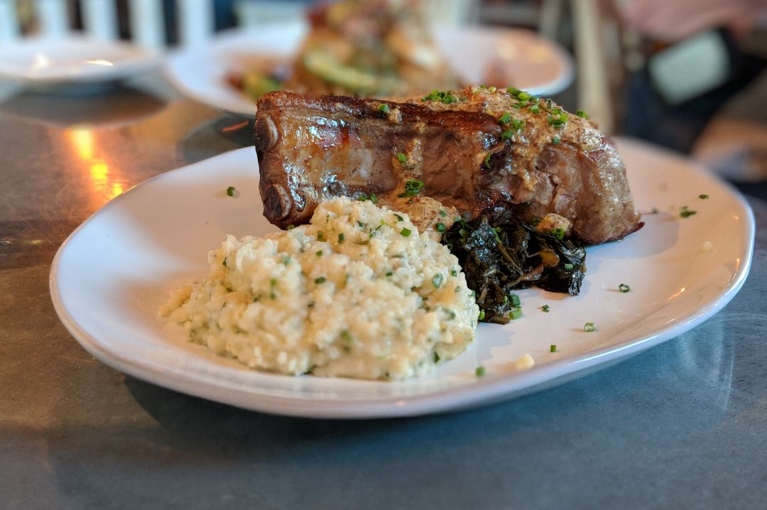 Our Latest Obsession: The Pork Chop at Field & Tides