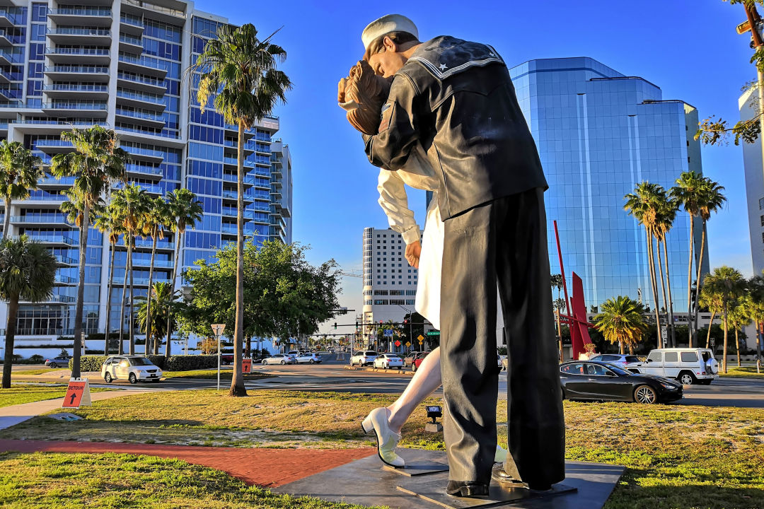 Unconditional Surrender on Sarasota's bayfront