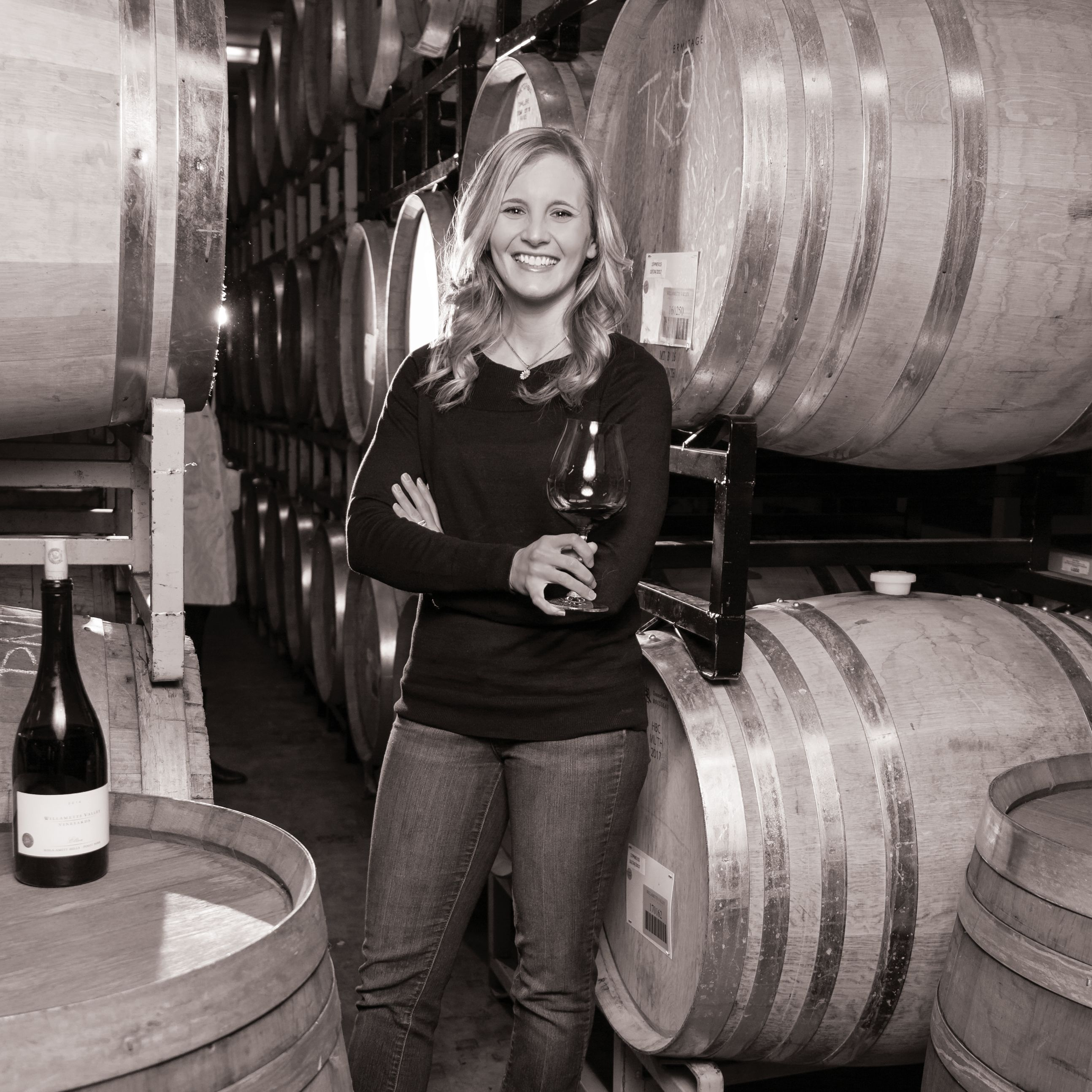 Bw 1 for print faces of women   christine   willamette valley vineyards vr0dit