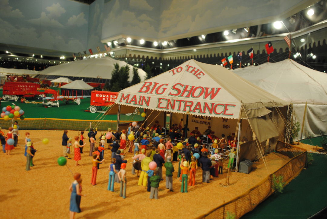 Ringling circus museum miniature circus ntbnju