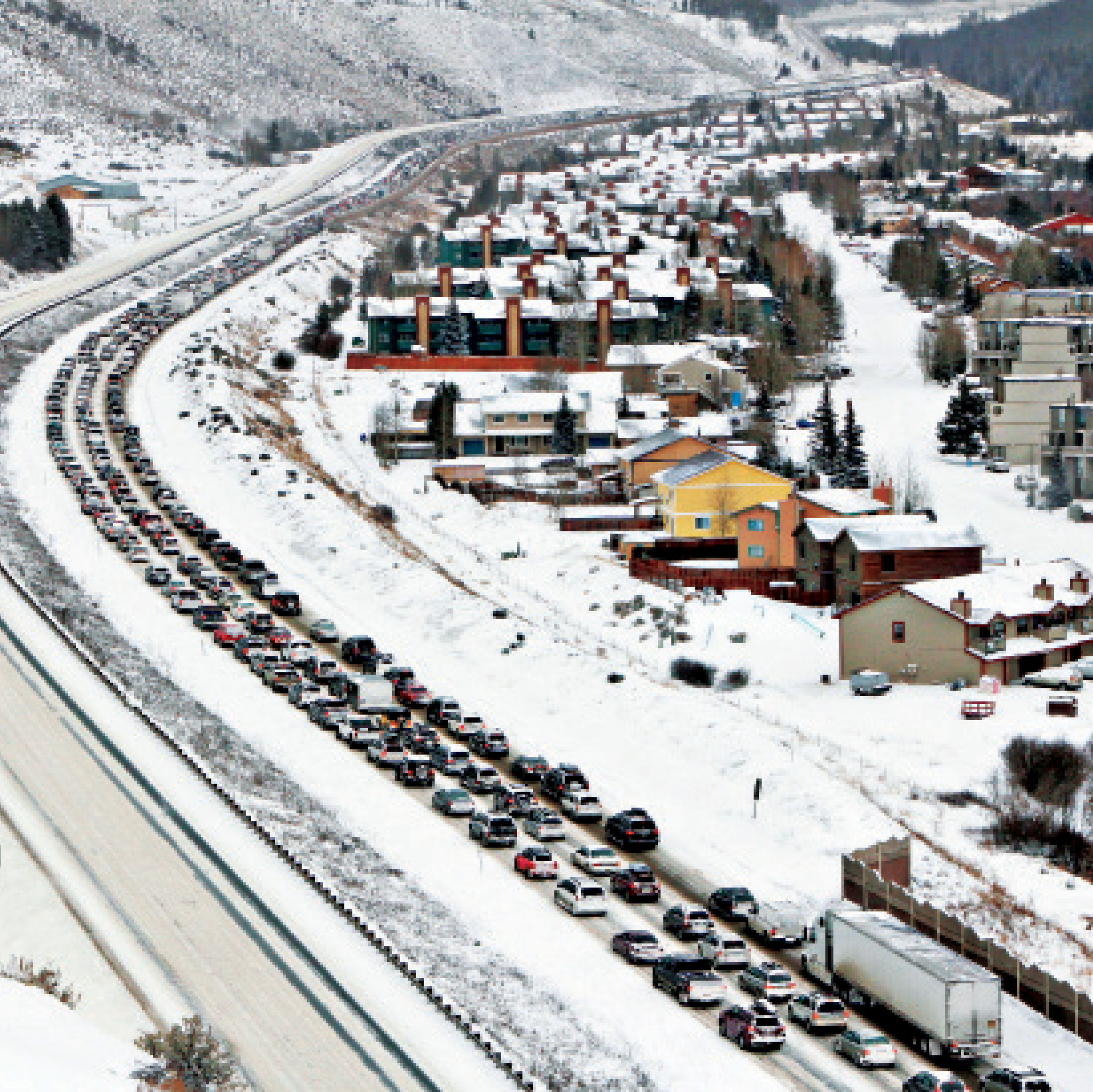 Cosu winter 2015 traffic jam photo pgonxi