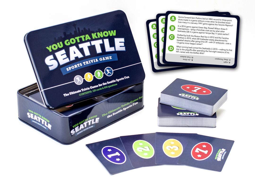 You Gotta Know Seattle Sports Trivia Game