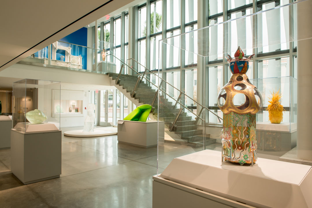 Kotler Coville Glass Pavilion Now Open At The Ringling Sarasota