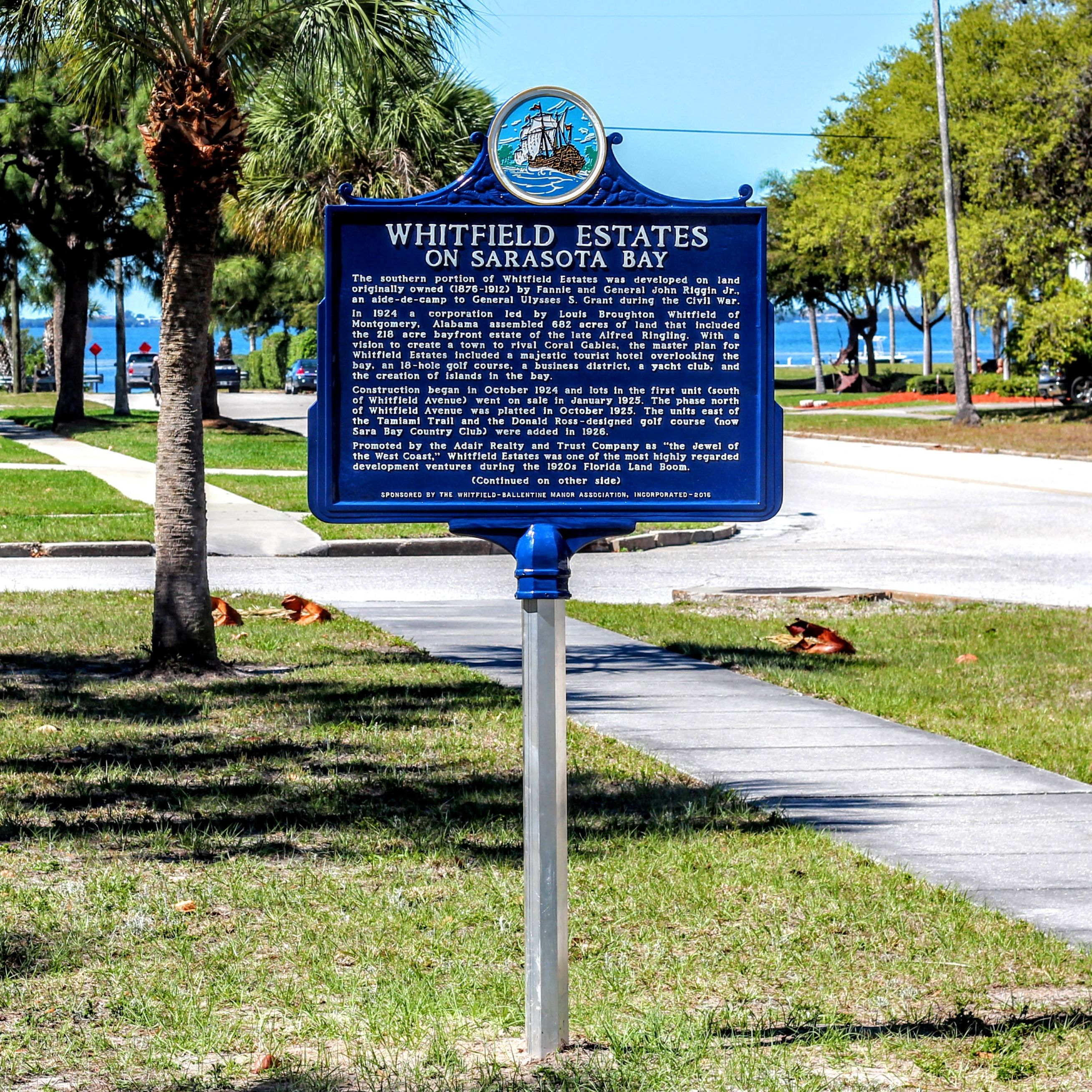 Whitfield estates historical marker ixfnhh