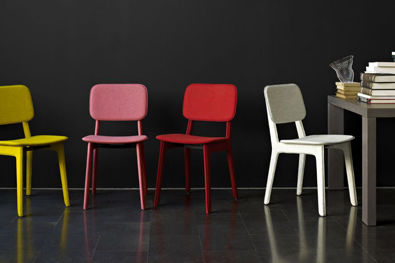Ligne rose felt chair d6ojxg
