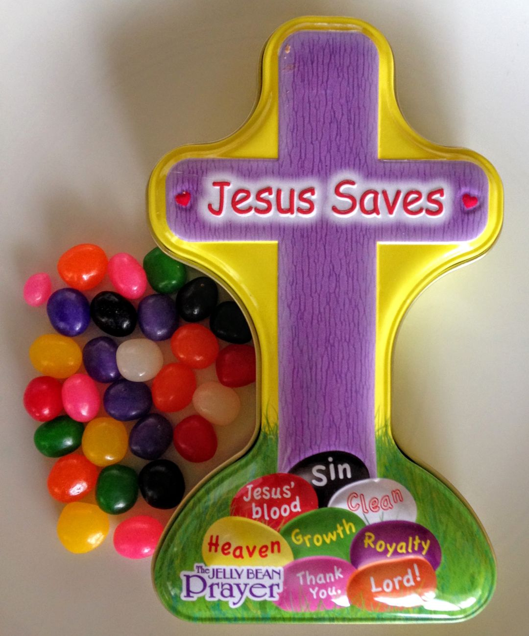 Jesus saves jelly beans gozxcu