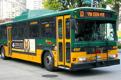 Seattle bus l1bwcl