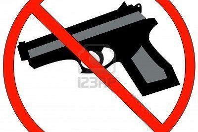 2645268 hand guns prohibited or not allowed sign vector vgddoc