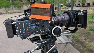 Movie camera cvcvgg