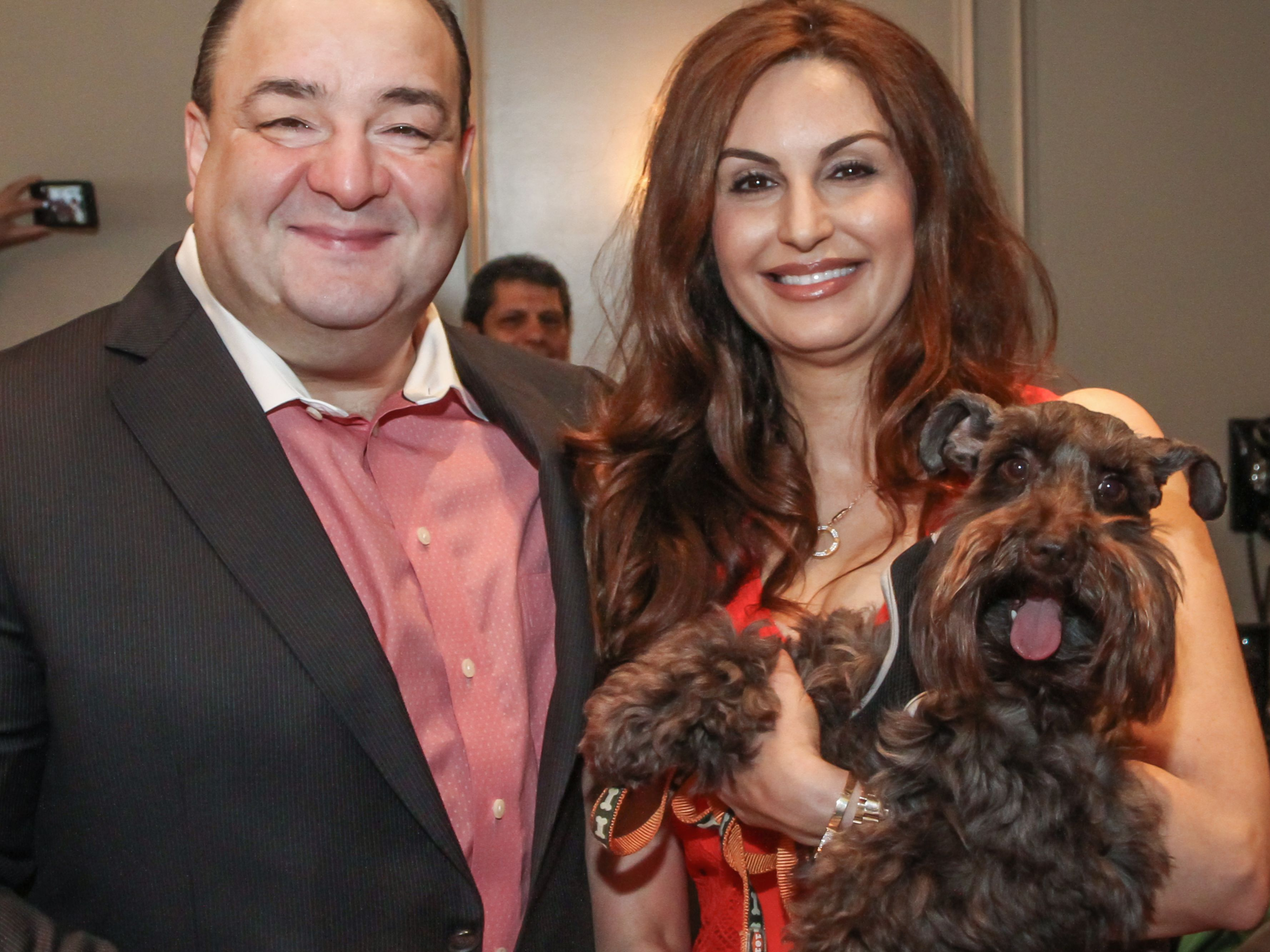 Bashar and brigitte kalai with max gvbz63