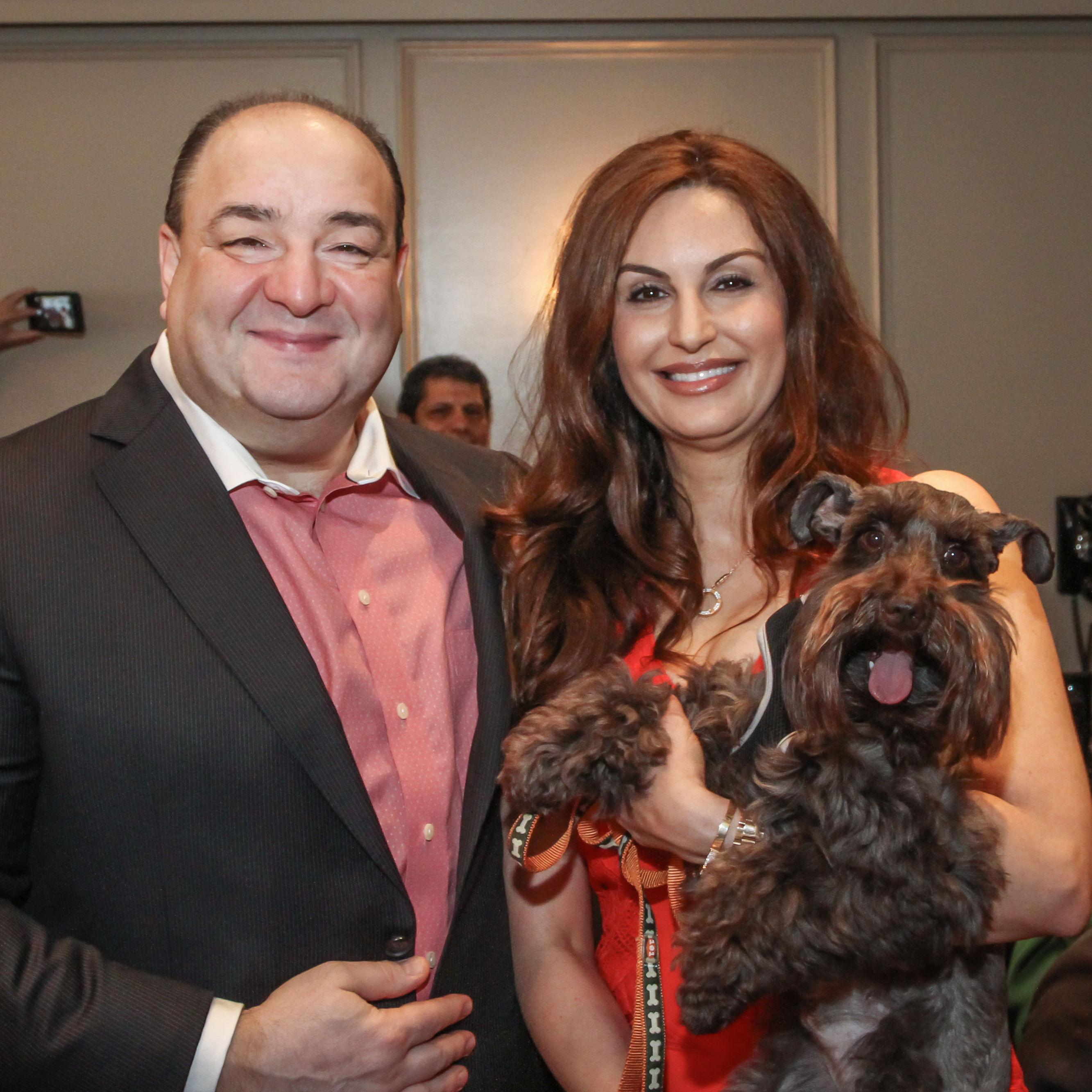 Bashar and brigitte kalai with max gvbz63