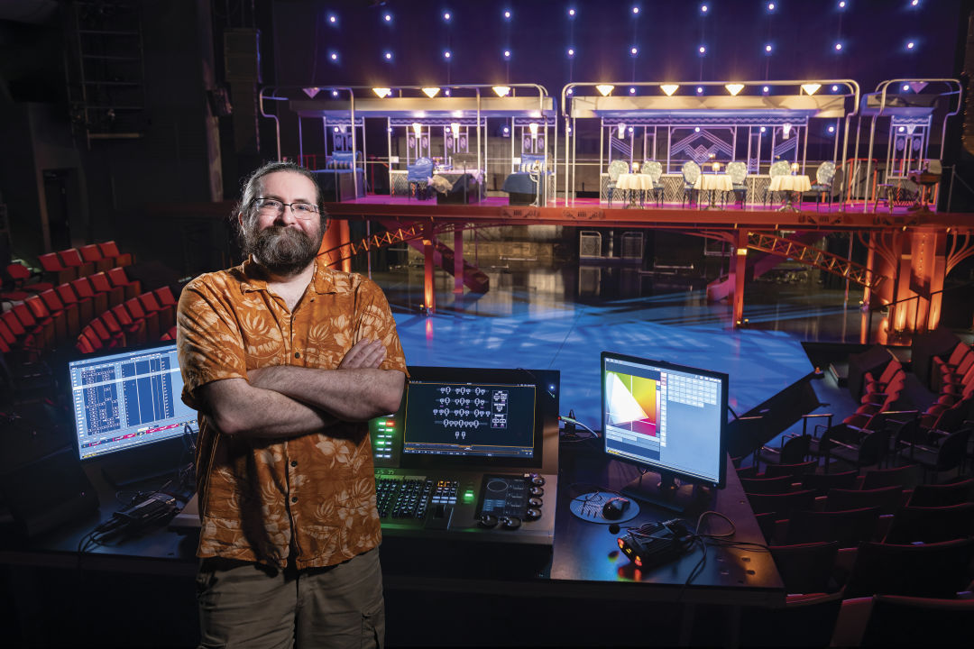 At the Alley Theatre, Making Sure Theatergoers Never Feel In the Dark