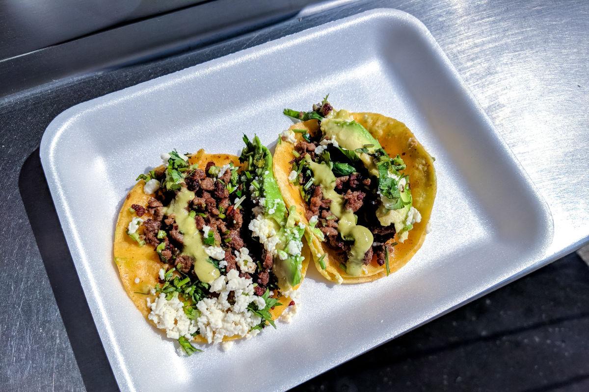 Pictures of tacos food truck denver menu