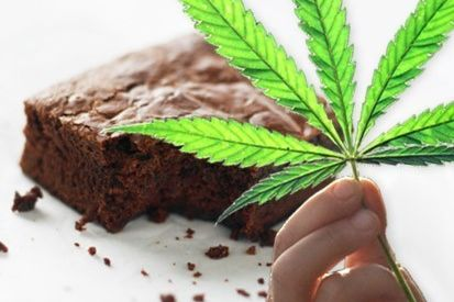 Marijuana brownie w0sxc3