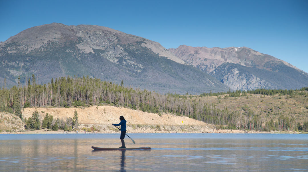 Colorado summit dillon resevoir lakes paddleboard summer 2015 ousicq